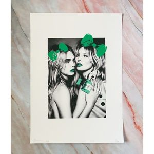 Other - Kate & Cara Graffiti Pop Art Print